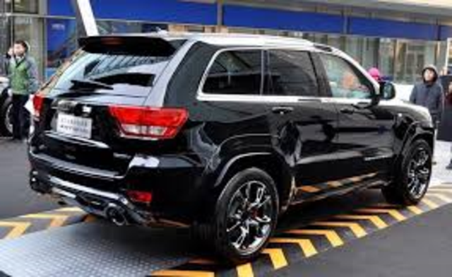 jeep grand cherokee srt8 6 4 v8. Black Bedroom Furniture Sets. Home Design Ideas